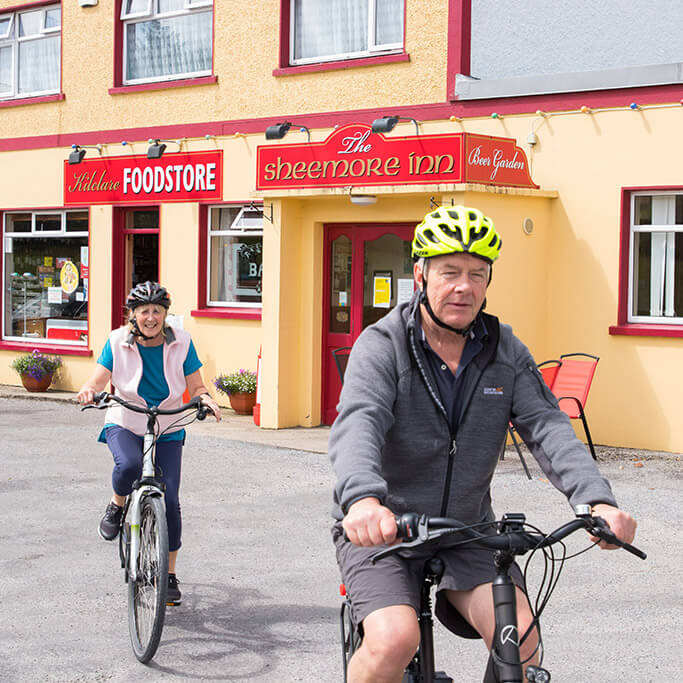 bike hire in Leitrim
