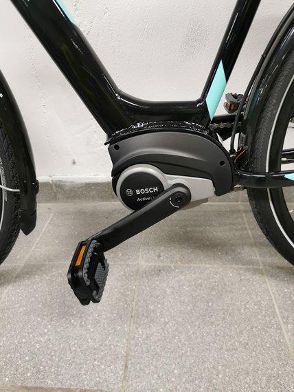 Gapida E Bike showing Bosch Motor